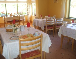 Irish Breakfast Dining at Country Home Bed and Breakfast Wexford Ireland