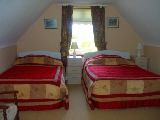 En suite Bedrooms at Perrymount Country Home Bed and Breakfast Wexford Ireland