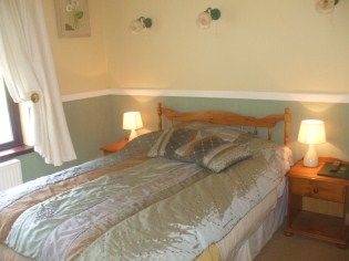 En suite Country Style Bedrooms at Perrymount Bed and Breakfast Wexford Ireland
