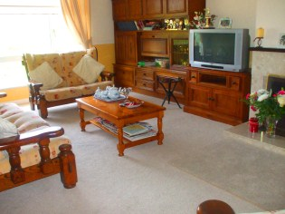 Television room area at Perrymount Bed and Breakfast Gorey Wexford Ireland